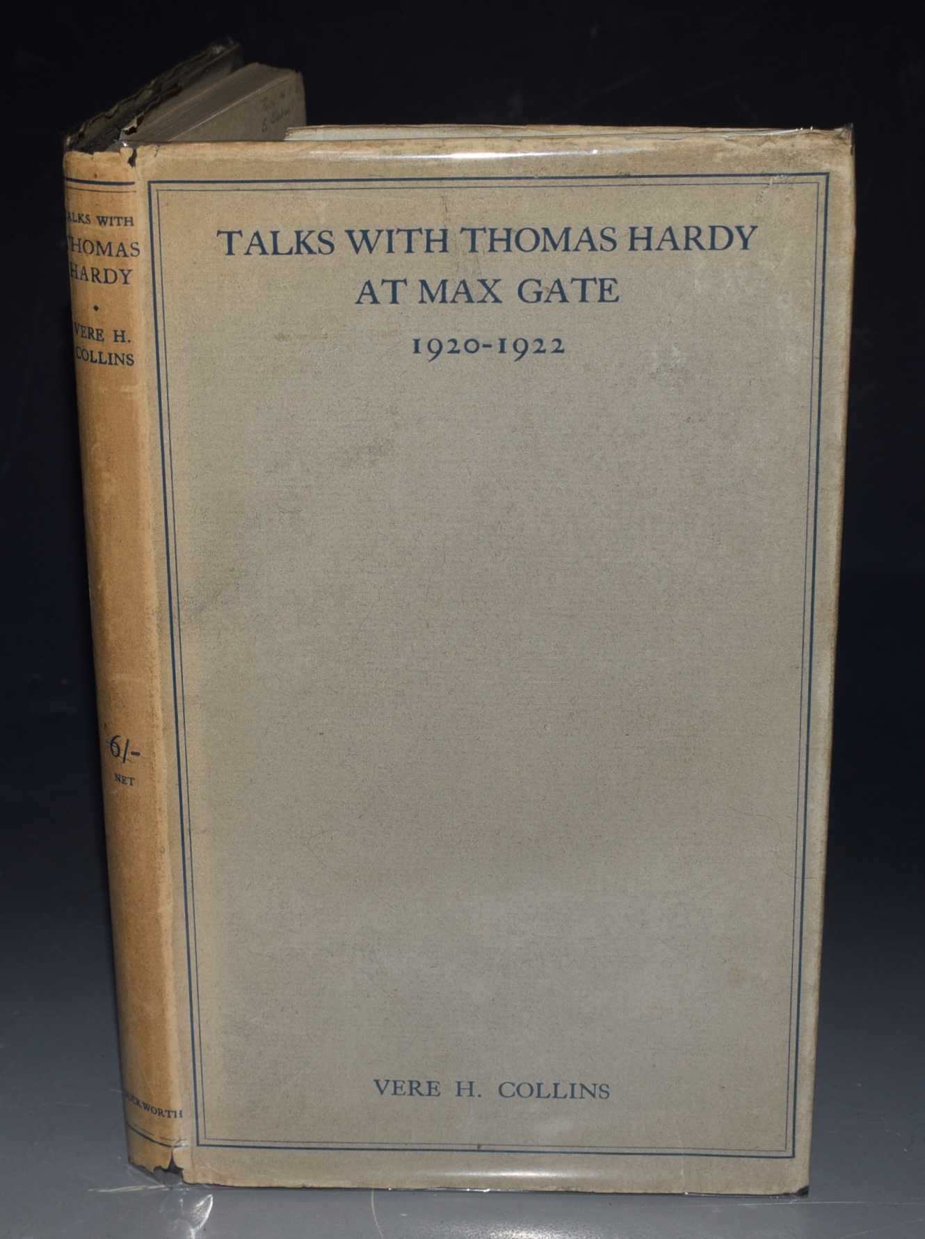 Image for Talks with Thomas Hardy at Max Gate, 1920-1922