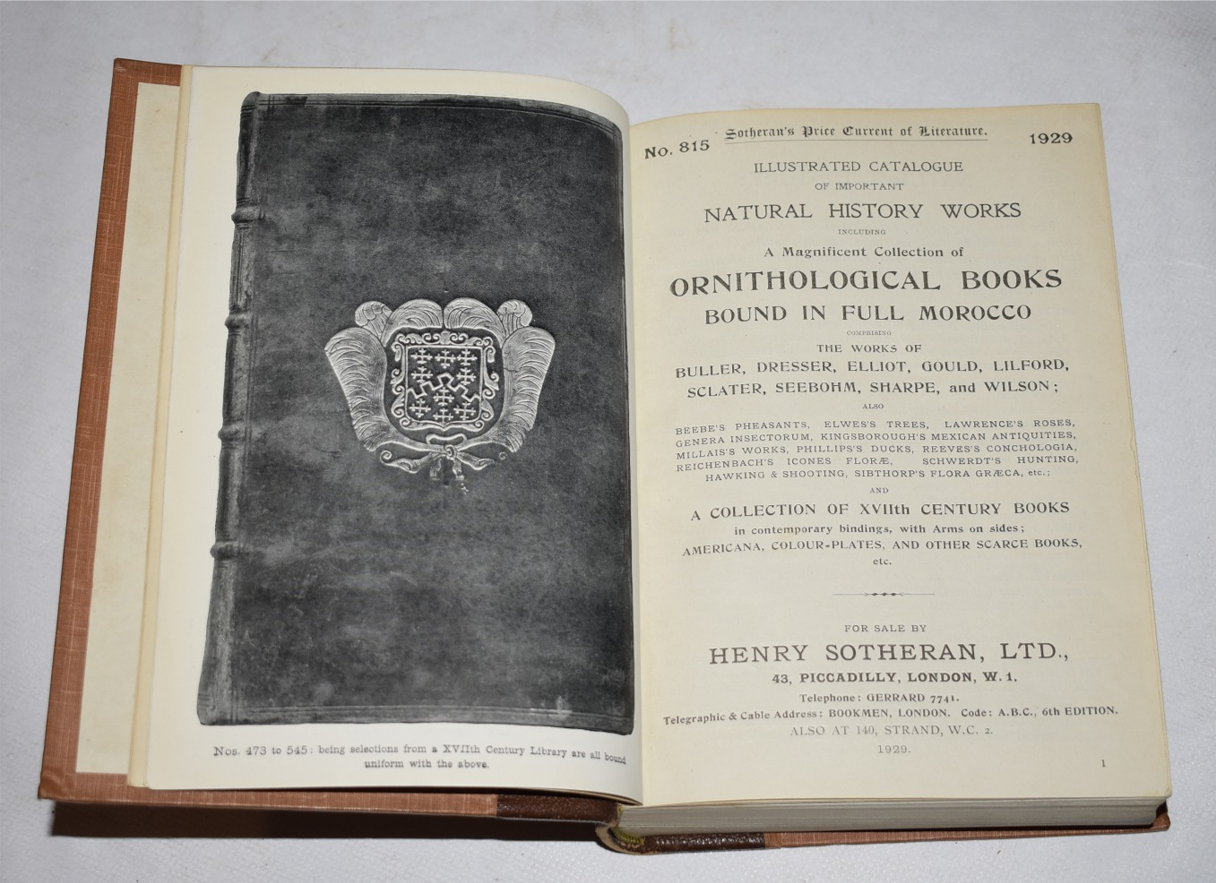 Image for Illustrated Catalogue of Books, Natural History, Naval and Military.