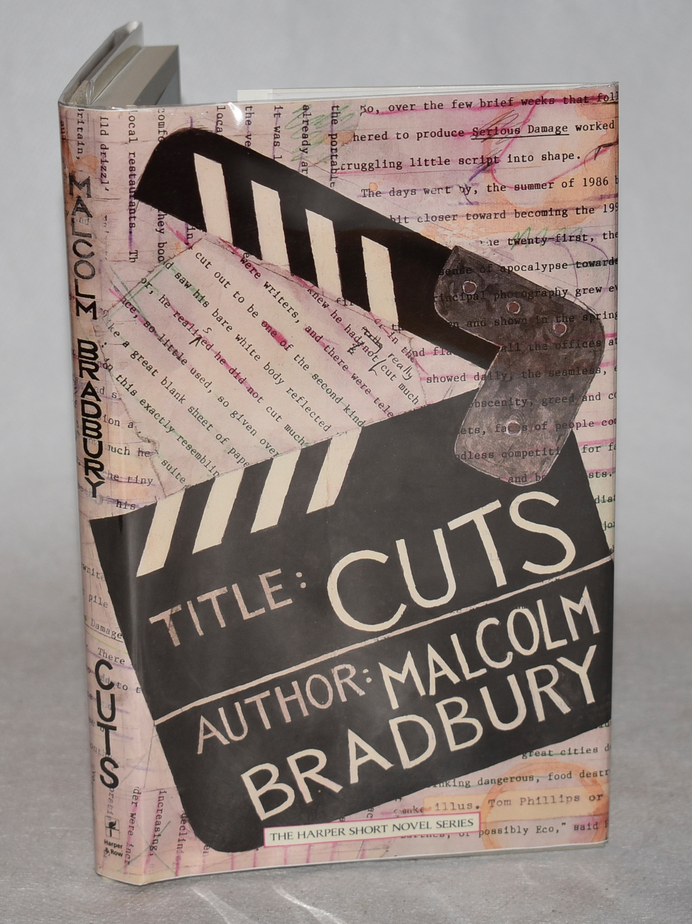 Image for Cuts. Ilustrations by Tom Phillips. Signed first edition.