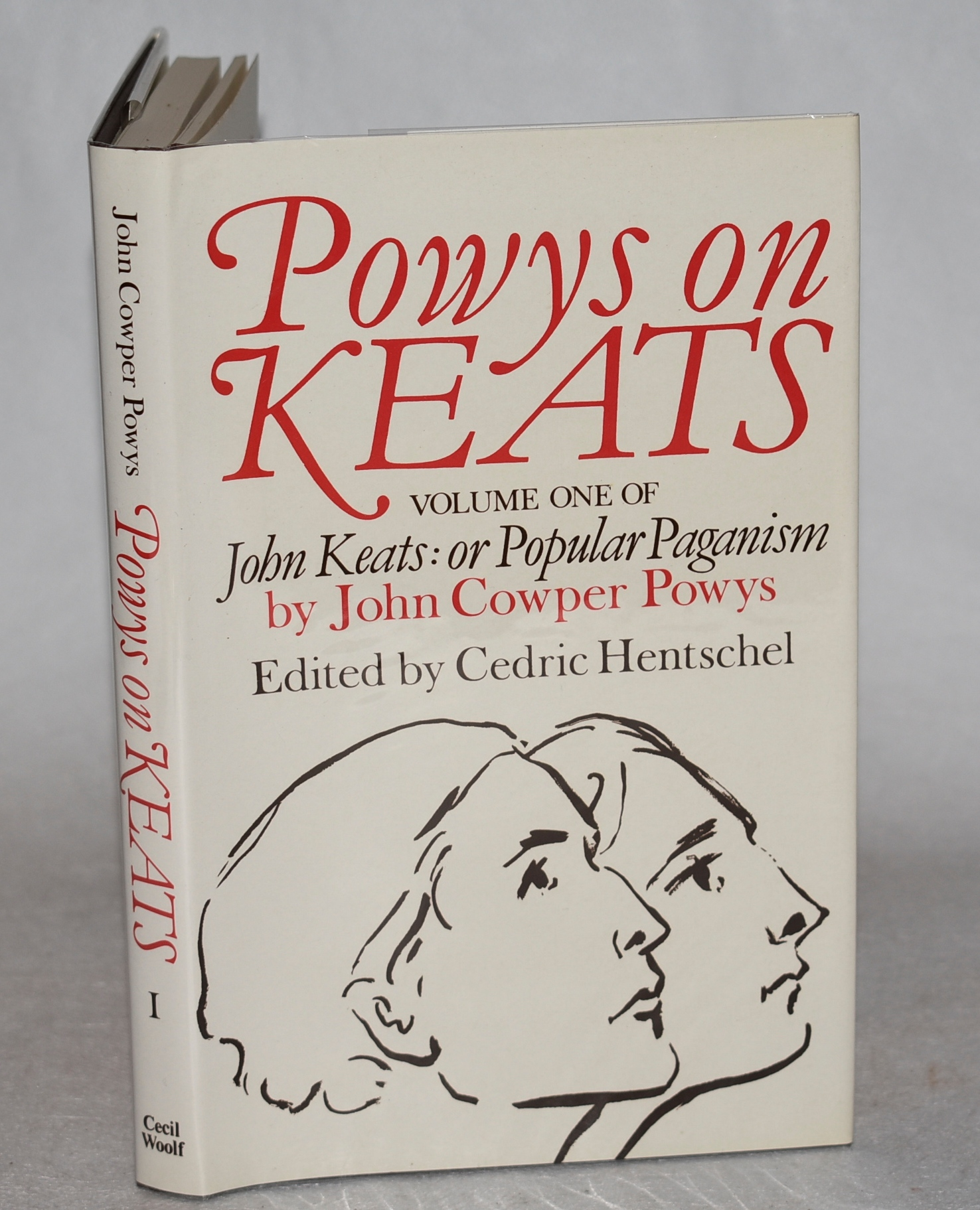 Image for Powys on Keats. John Keats: or Popular Paganism. Volume One. Edited by Cedric Hentschel.