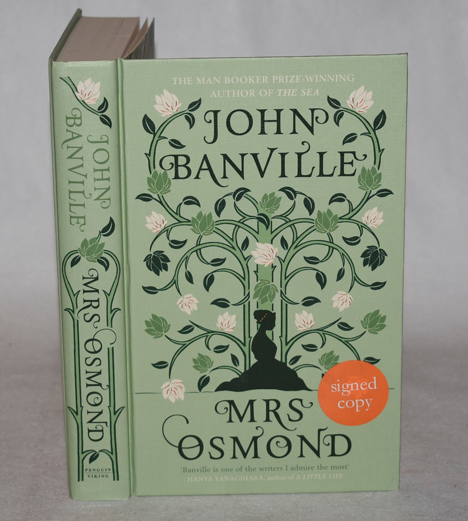 Image for Mrs Osmond. Signed copy.