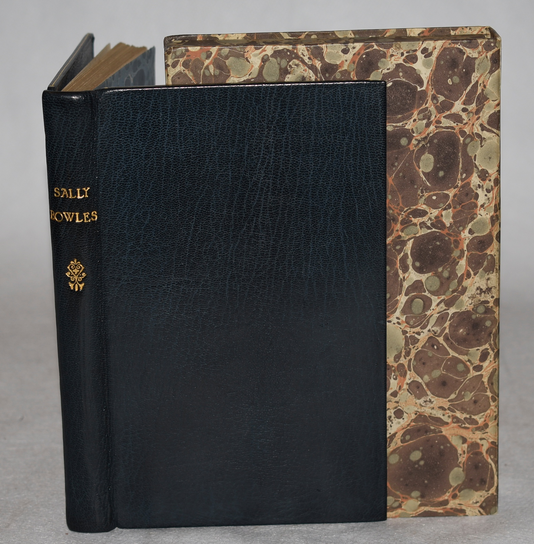 Image for Sally Bowles. Signed Copy in Fine Leather Binding. In Box Case.