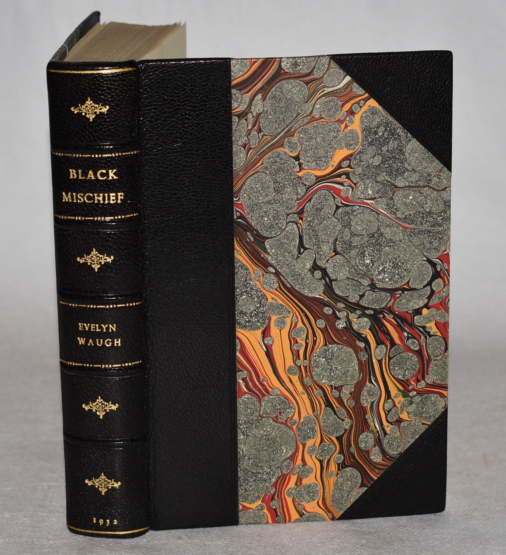 Image for Black Mischief. In Stunning Leather Fine Binding.