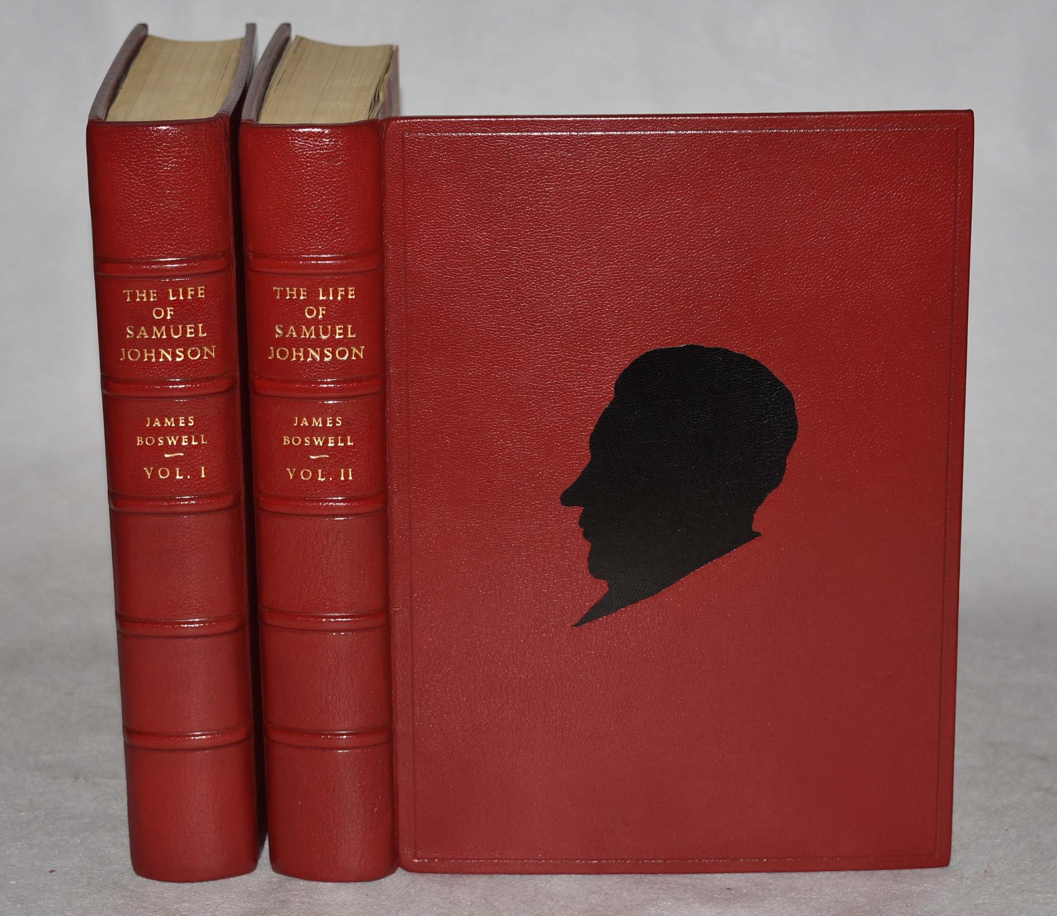Image for The Life of Samuel Johnson. Newly Edited with Notes by Roger Ingpen. With 576 Illustrations, Facsimiles and Maps including 13 plates in Photogravure. In Two Volumes. In Stunning Leather Fine Binding.