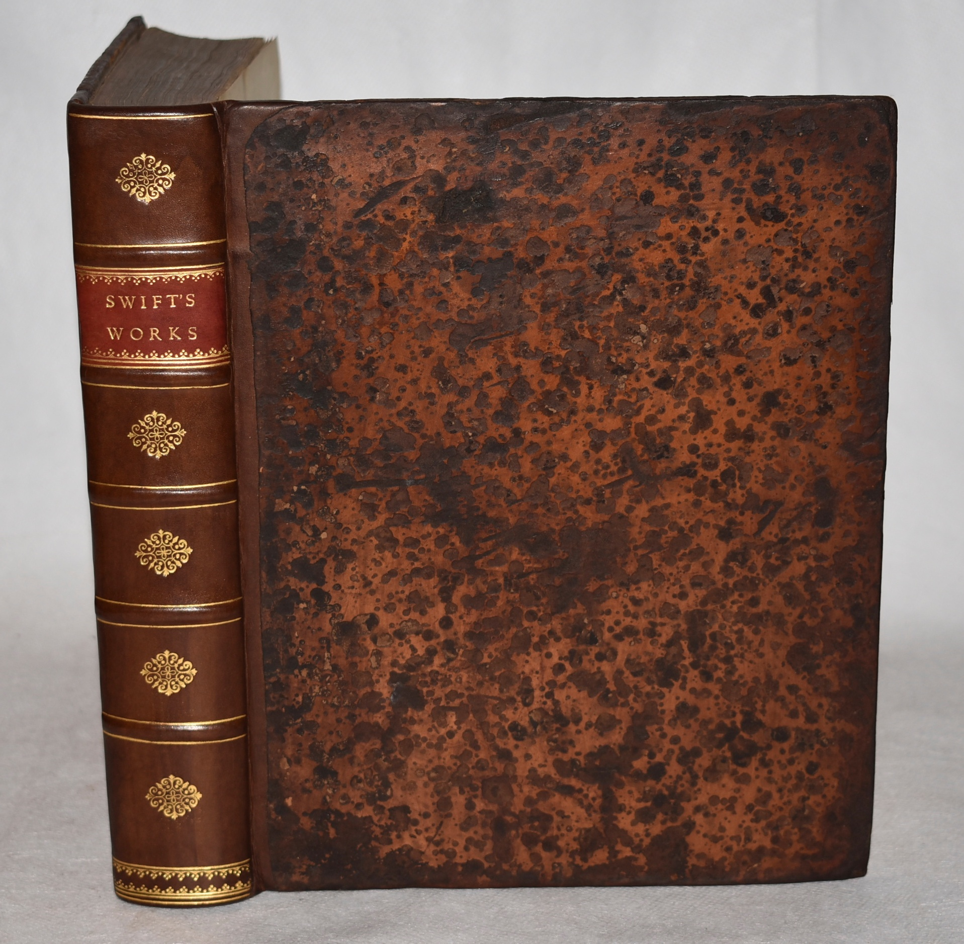 Image for The Works of Dr. Jonathan Swift, Dean of St. Patrick's, Dublin. Accurately revised In Six Volumes. With Some Account of the Author's life, and Notes Historical and Explanatory. Volume I; Parts I & II Only. In Stunning Leather Fine Binding.