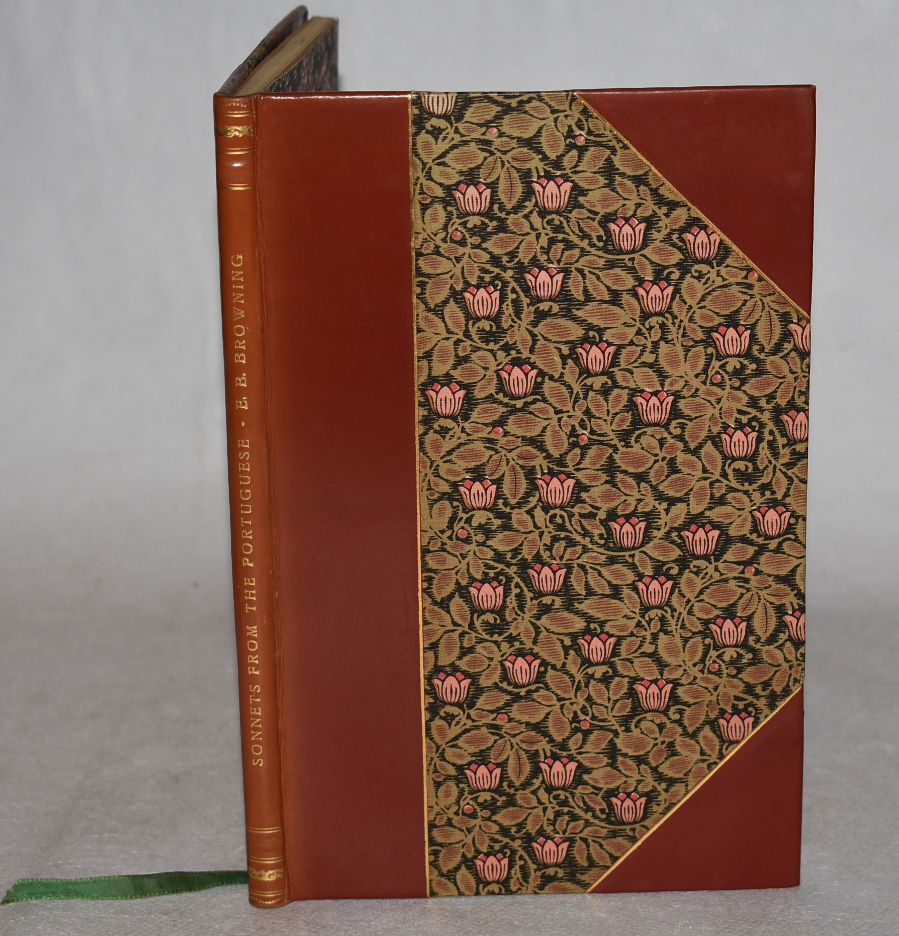 Image for Sonnets from the Portuguese. In Stunning Leather Fine Binding.