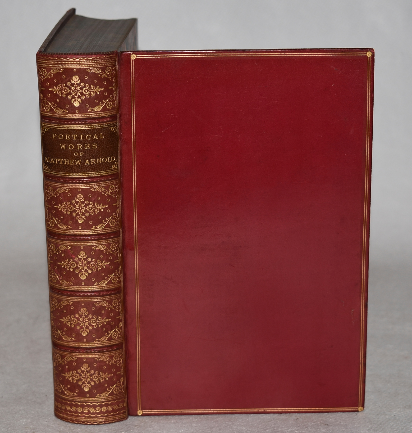 Image for Poetical Works of Matthew Arnold. In Leather Fine Binding.