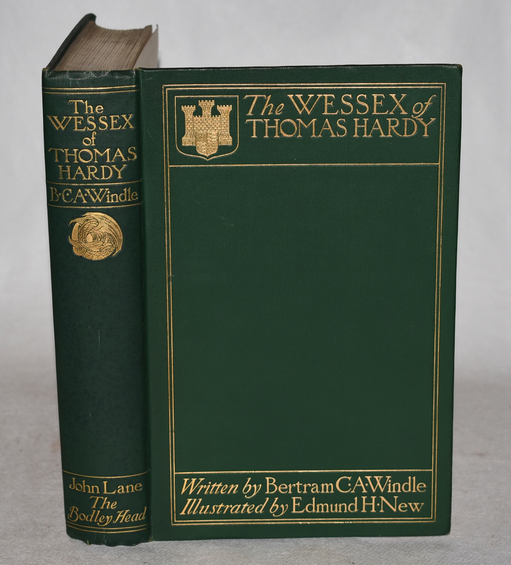 Image for The Wessex of Thomas Hardy.