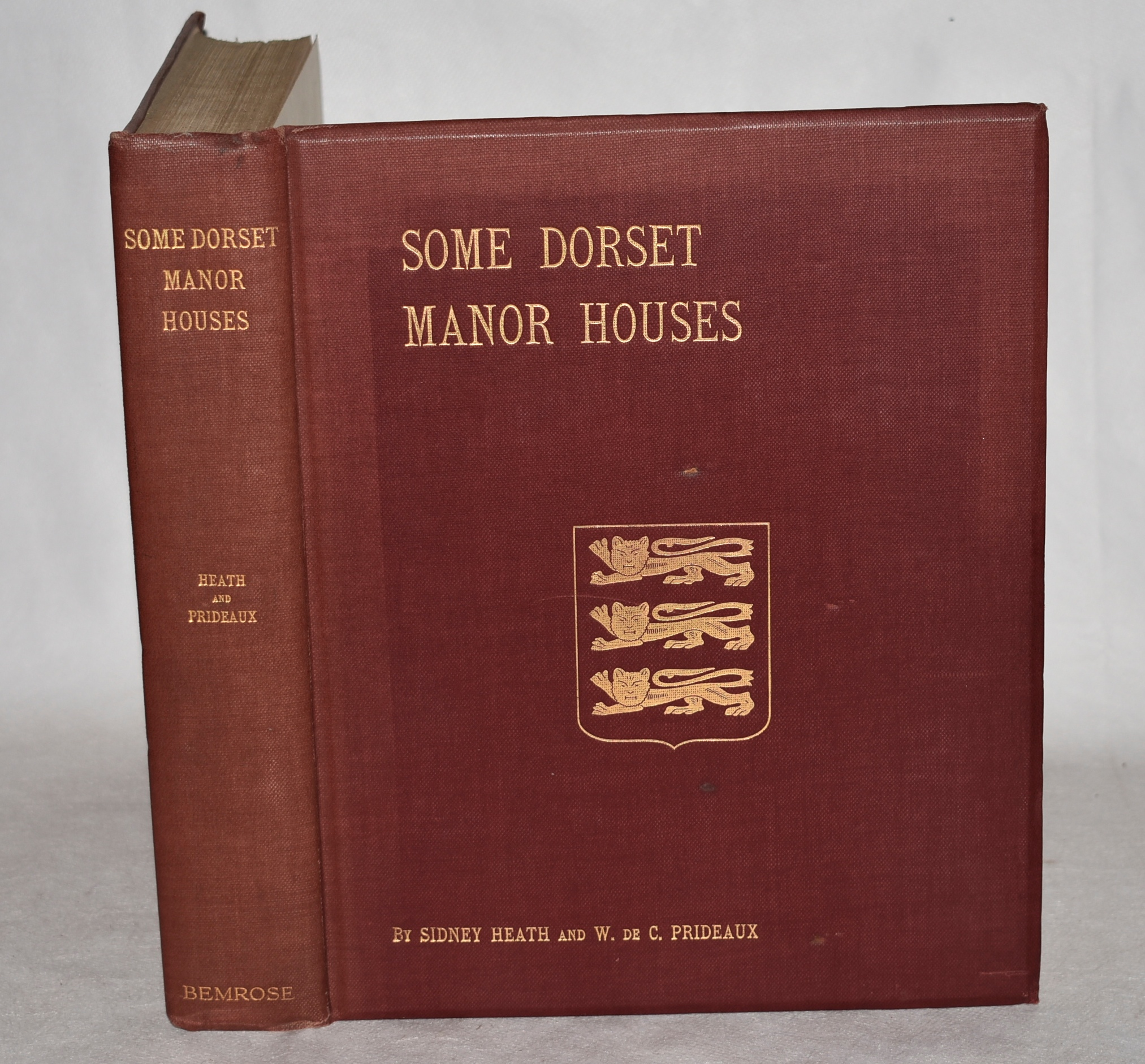 Image for Some Dorset Manor Houses. With their Literary and Historical Associations.