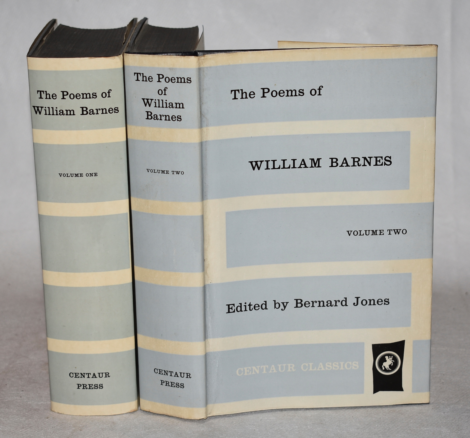 Image for The Poems of William Barnes. Edited by Bernard Jones. Centaur Classics. General Editor: J.M. Cohen. Two volumes.
