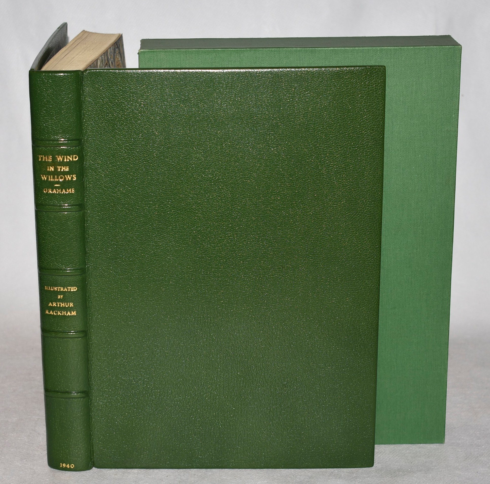 Image for The Wind in the Willows. Introduction by A. A. Milne. Limited Numbered Edition in Leather Fine Binding.