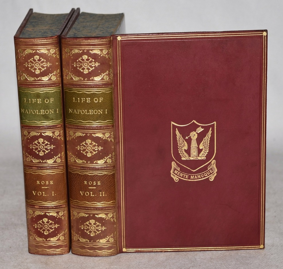 Image for The Life of Napoleon I. Including New Materials From the British Official Records. In Two Volumes. In Leather Fine Binding.