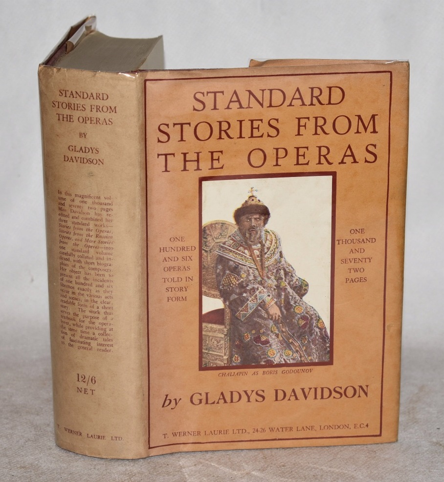 Image for Standard Stories From The Operas. One Hundred and Six Operas told in Story Form.