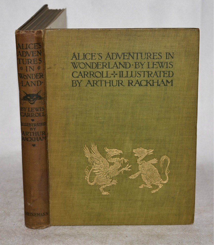 Image for Alice's Adventures in Wonderland. Illustrated by Arthur Rackham. With a Proem by Austin Dobson.