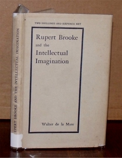 Image for Rupert Brooke and the Intellectual Imagination. A Lecture.